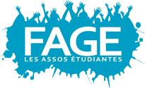 Logo de la Fédération des Associations Générales Etudiantes - FAGE